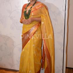Vidya looks ethereal in a traditional avatar at a launch event!