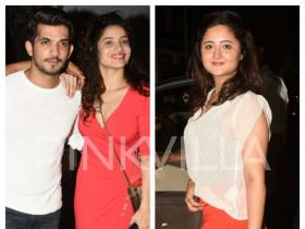 Ankita Lokhande, Arjun Bijlani and Rashami Desai party together in style