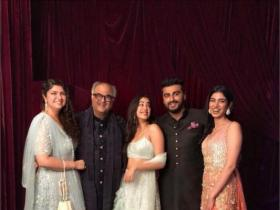 Boney Kapoor: Arjun, Anshula, Janhvi and Khushi love each other a lot and I am glad they have come together