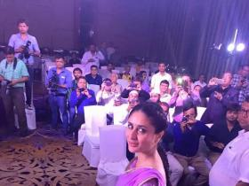 Kareena Kapoor Khan clicked in Ahmedabad for a brand promotion event