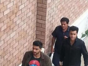 Arjun Kapoor shoots for an ad in Pune