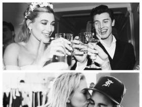 Did Justin Bieber take a dig at fiancee Hailey Baldwin\'s ex-boyfriend Shawn Mendes in his new song No Brainer?