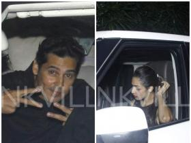 Malaika & Dino attend Natasha Poonawala\'s party!