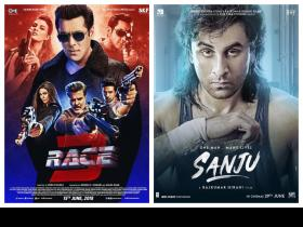 EXCLUSIVE: Salman Khan\'s Race 3 to clash with Ranbir Kapoor\'s Sanju in Pakistan?