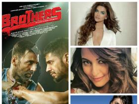 "For a film called Sisters, here's the cast according to ""Brothers"" Akshay-Sid!"