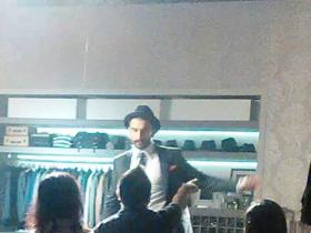 Ranveer Singh shoots for an ad commercial