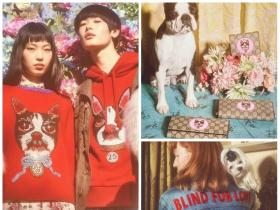 Gucci celebrates Chinese New Year and unleashes a Canine Themed Collection