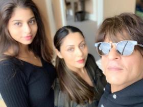Happy Birthday Suhana Khan: Check out her picture perfect moments with Shah Rukh, Gauri, Aryan & AbRam Khan