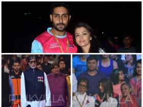 Bachchans attend Pro Kabaddi League!