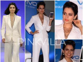 Yay or Nay : Kangana Ranaut suits up in Theia Couture