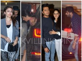 Katrina, Arjun & others attend Kareena\'s party!