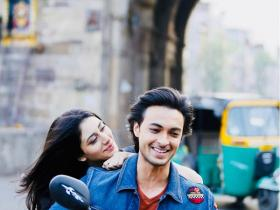 Loveratri: Salman Khan shares a lovely photo of Aayush Sharma & Warina Hussain from the first day of the shoot