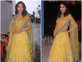 Yay or Nay : Madhuri Dixit in Anita Dongre