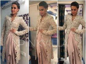 Yay or Nay : Neha Dhupia in Anamika Khanna