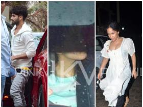 Spotted - Shahid, Mira & others!