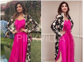 Yay or Nay : Shilpa Shetty in Anamika Khanna