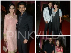 Dipika-Shoaib Reception: Sanaya-Mohit, Sharad-Keerti, Gurmeet-Debina and others mark their presence