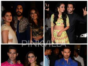 Sargun-Ravi, Rithvik-Asha, Surbhi Jyoti, Keith Sequeira and more grace their presence at Suyyash and Kishwer\'s Sangeet!