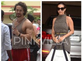 Tiger Shroff and Malaika Arora get papped in the city. See Pics