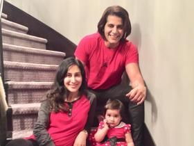 Valentines has a whole new meaning for Karanvir Bohra, thanks to his twins Vienna and Bella