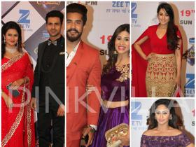 Divyanka-Vivek, Anita, Krystle, Kishwer-Suyyash look their stylish best at Zee Rishtey Awards!