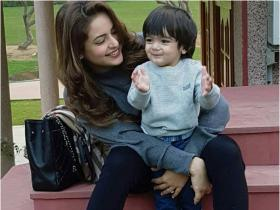Kasautii Zindagii Kay star Aamna Sharif\'s THESE photos with her son are beyond adorable; Check it out