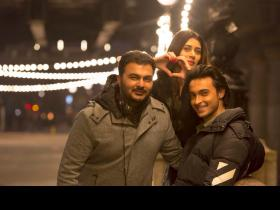 Loveratri: Aayush Sharma and Warina Hussain enjoy shooting for the film in London