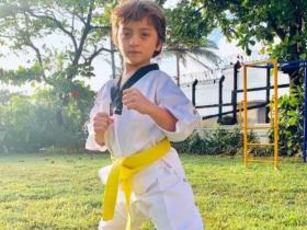 Abram Birthday Special: When Shah Rukh Khan\'s son broke the internet with these viral photos, Check them out