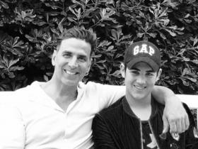 PHOTOS: Akshay Kumar and his son Aarav\'s special father & son moments are too cute to miss