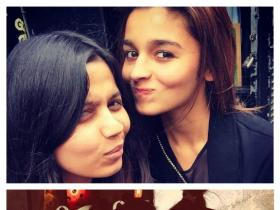 Alia holidays in London with her sister Shaheen