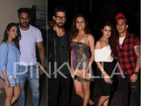 Anita Hassanandani-Rohit, Ravi Dubey-Sargun & Prince Narula-Yuvika Chaudhary go out and about in the city
