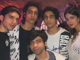 Here\'s Aryan Khan having a blast with his best friends in these UNSEEN photos