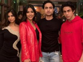 Aryan Khan & Suhana Khan: Shah Rukh Khan\'s kids are the life of a party and these UNSEEN photos explain why