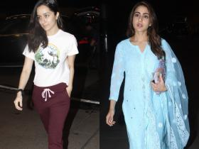 Airport diaries: Shraddha Kapoor to Sara Ali Khan, list of actresses who opt for the most casual attires