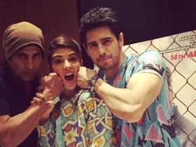 That's how Sidharth and Akshay were promoting 'Brothers'