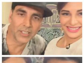 Did Akshay call Jacqueline 'somebody else's sister'?
