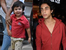 From Taimur Ali Khan to Aryan Khan, THESE are the celebrity kids who look exactly like their parents