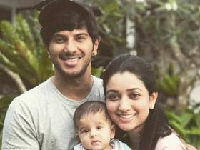Dulquer Salmaan\'s PHOTOS with megastar dad Mammootty, wife Amal, daughter Maryam Ameerah redefine love