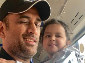 MS Dhoni\'s daughter Ziva Dhoni\'s THESE adorable moments will melt your heart