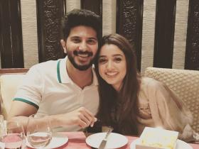 The Zoya Factor star Dulquer Salmaan & his wife Amal Sufiya\'s THESE pics are too cute to miss