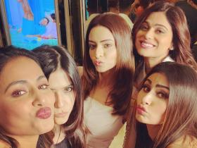 Happy Birthday Ekta Kapoor: PHOTOS that prove she shares a great rapport with Hina Khan, Mouni Roy & others