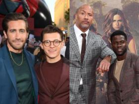 From Jake Gyllenhaal and Tom Holland to Dwayne Johnson and Kevin Hart, check out Hollywood\'s TOP 5 bromances
