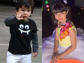 Taimur Ali Khan to Aaradhya Bachchan, here\'s a list of the most popular celebrity kids
