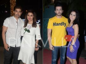 Gurmeet Choudhary-Debina Bonnerjee and Dheeraj Dhoopar-Vinny Arora enjoy a romantic Sunday night