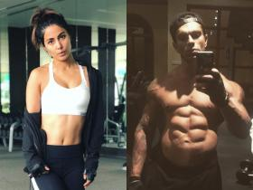 From Hina Khan to Karan Singh Grover: THESE TV stars\' workout pictures will surely inspire you to hit the gym