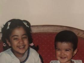 Janhvi Kapoor and her cousin Shanaya Kapoor\'s childhood pictures are awwdorable; Check it out
