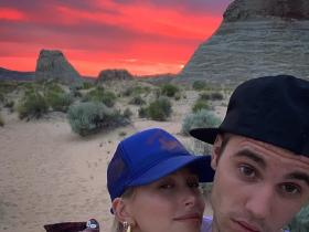 Justin Bieber & Hailey Bieber\'s romantic pics won\'t let you take your eyes off them; Check it out