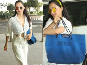 PHOTOS: Kiara Advani gets spotted at the airport with a luxury bag worth whopping Rs 1.4 lakh