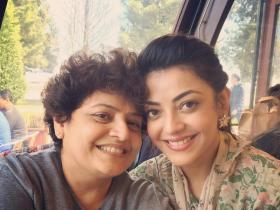Kajal Aggarwal\'s adorable moments with her mom prove she is a mumma\'s girl; See PHOTOS