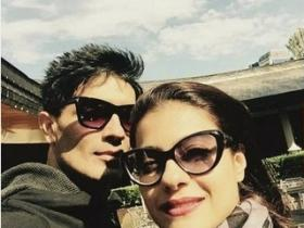 Kajol's day out with Manish Malhotra in Bulgaria